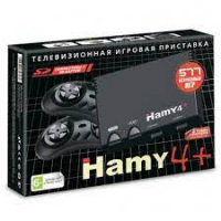 "Sega - Dendy ""Hamy 4+"" 577-in-1 Black"